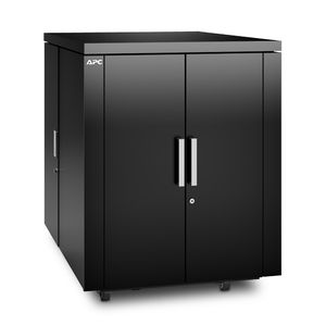 APC NetShelter CX 18U 750 mm Wide x 1130 mm Deep Enclosure Black Finish Intl (AR4018IX429)
