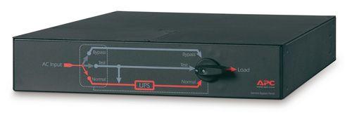 APC Service Bypass Panel - 230V, 32A, BBM, IEC320 C20/HW Input, IEC-320 Output - (2) C19 (8) C13 (SBP5000RMI2U)