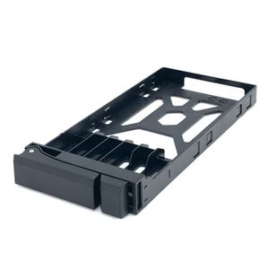 QNAP TRAY-25-NK-BLK05 SSD Tray for 2.5inch drives without key lock black plastic tooless (TRAY-25-NK-BLK05)